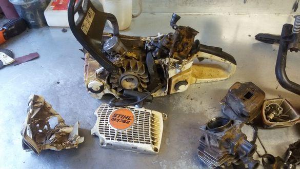 Моторен трион(резачка) Щил/STIHL МС 362 на части