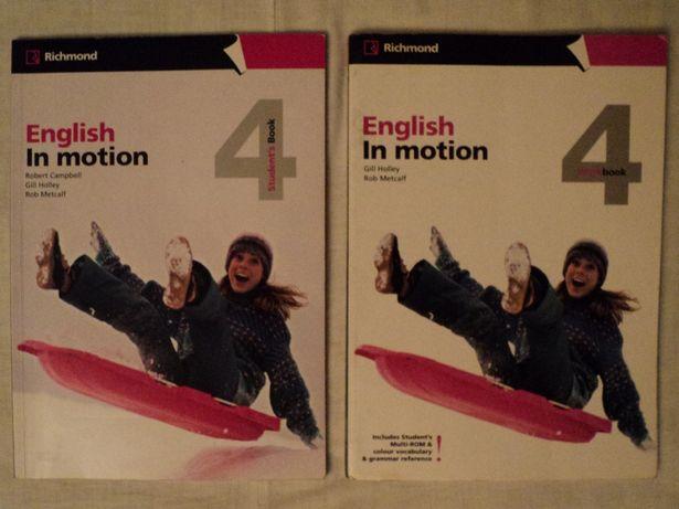 ENGLISH IN MOTION Manual lb. engleza nivel mediu, aviz British Council