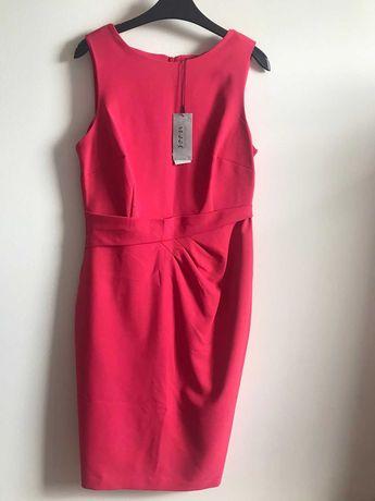 Официална дамска рокля в розово.