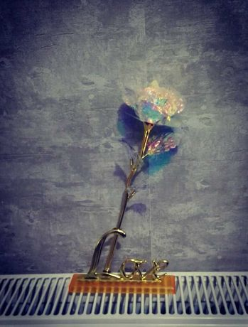Уникална роза подарък за Рожден Ден