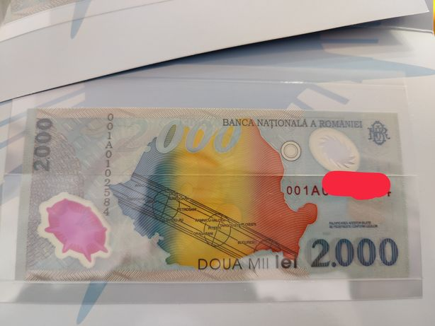 Bancnote Eclipsa 00101