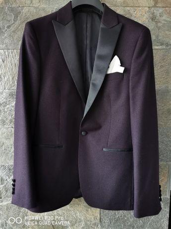 Costum Slim-Fit Ceremonie mire complet cu 2 camasi