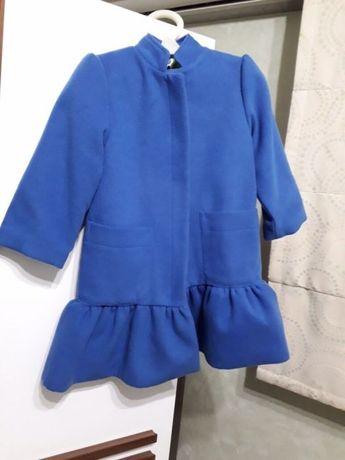 Детское стильное пальто