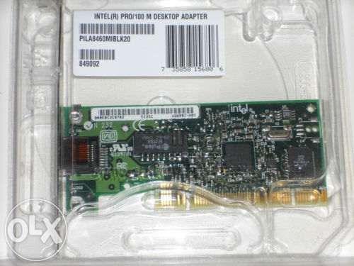 INTEL PRO100 M Desktop Adapter PILA8460MIBLK20