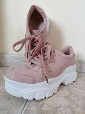 Дамски розови маратонки Jevonte