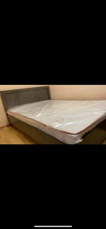 Кровать новый! С пружиновым матрасом!