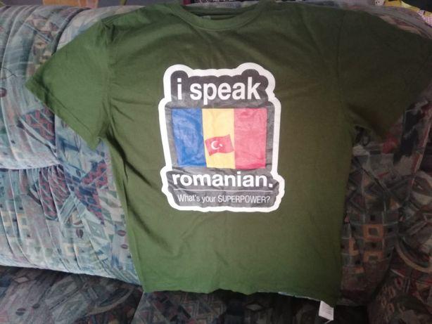 """Tricou personalizat """"I speak Romanian"""""""