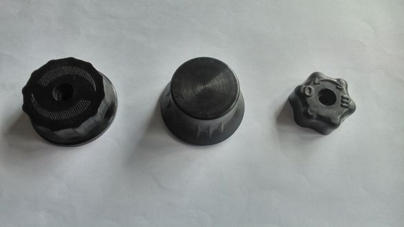 Бакелитови ръкохватки/врътки за газови уреди и котлони