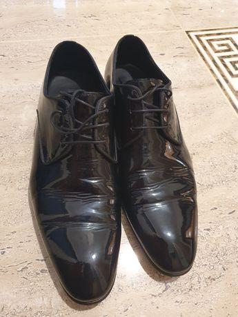 Pantofi negri Il passo