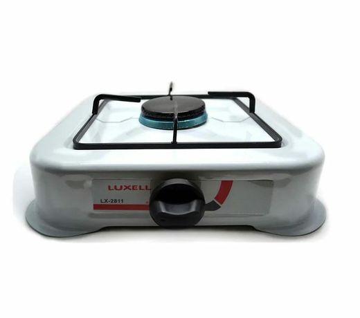 Одноконфорочная настольная газплита.  Газовая плитка кухонный.  Плита