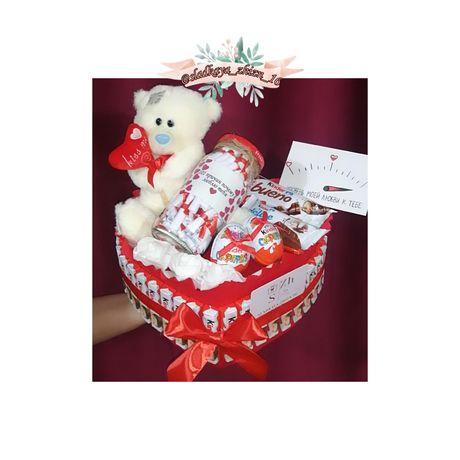 Подарок жене Подарок девушке на день рождения киндер торт Фотобокс