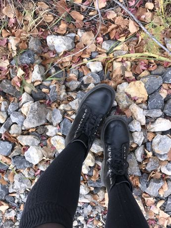 Ботинки осенние sinsay
