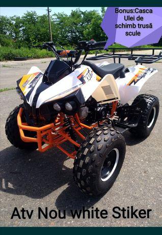 Atv Nou 125 cc Robust white