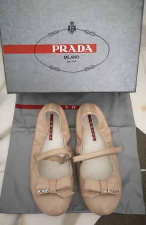 Туфельки Prada оригинал 31 р
