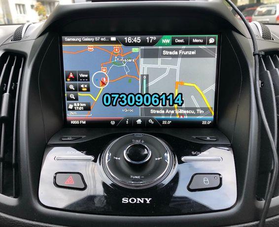 Card navigatie FORD Focus Mondeo 5 cu Sync2 card F8 harti EUROPA 2019