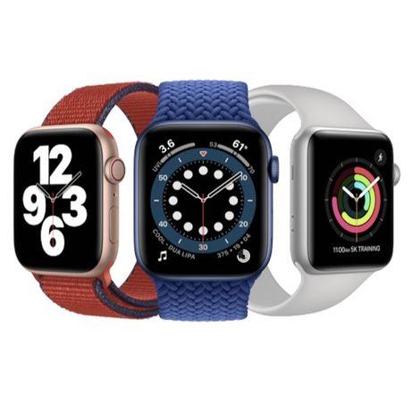 Apple Watch 6 44 mm/ Эпл Уотч 40 мм/ Смарт умные фитнес часы. Доставка