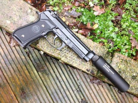 Editie Limitata!=>Pistol Airsoft Beretta M9/Metal/4,6 Jouli