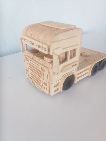 """cap tractor """"Scania"""" personalizat"""