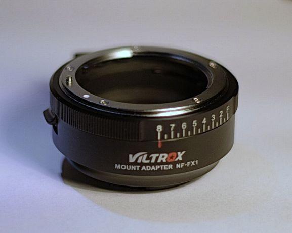 Адаптер NF-FX1 для объективов Nikon на камеру Fuji