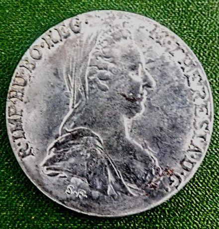 Талер М.Терезия 1780година.Рядко тенеке