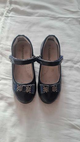 Туфельки для школы на девочку, размер 30