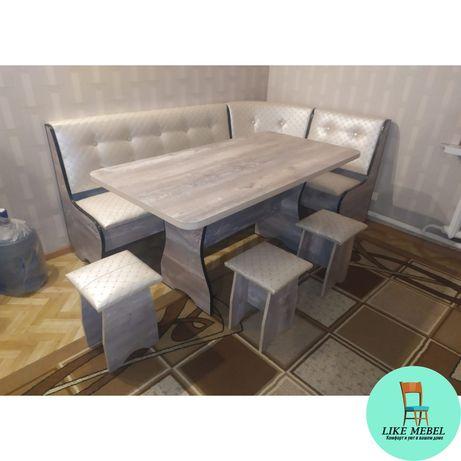 Кухонный уголок,Стол,Табуретки, Мебель для кухни,Мебель на заказ,