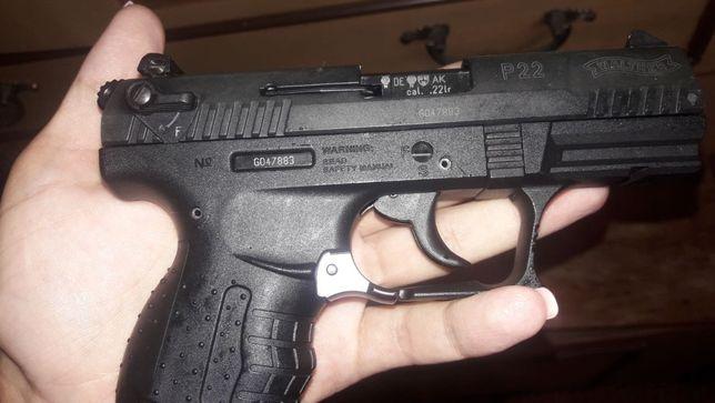 Pistol (Putere Dubla!!) +KIT P99 Dao Co2 gaz arcnou Non-Letal