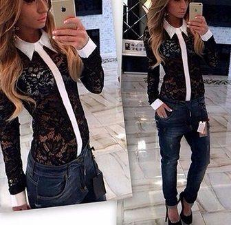 нова дамска блуза / нова дамска риза