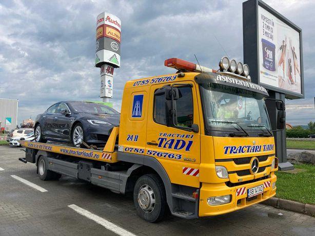 Tractari auto non stop Sibiu