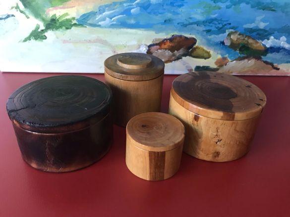 Дървени кутийки, чудесни за подарък, сувенири