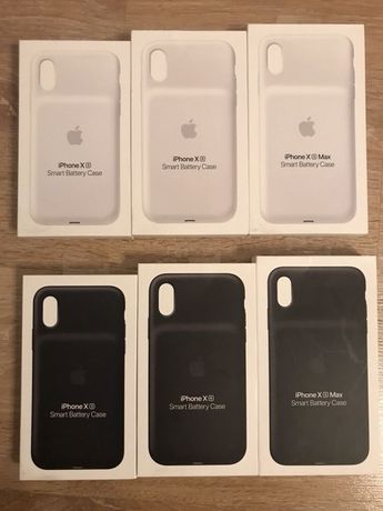 Smart Battery Case iPhone X XR XS XS Max. Huse cu baterie noi sigilate