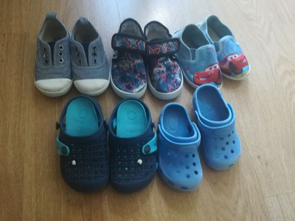6 чифта обувки 25 номер за момченце