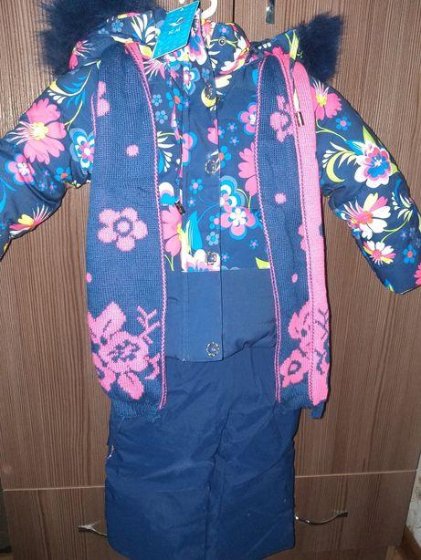 Продается зимний куртка с комбинезоном