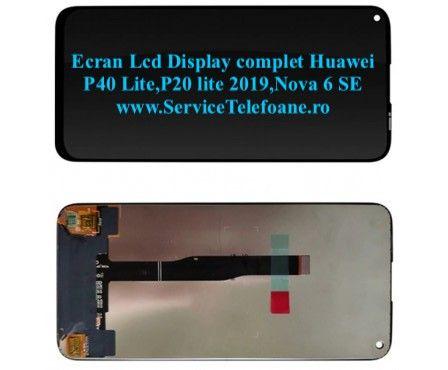 Ecran Lcd Display complet Huawei P40 lite, P20 lite 2019,Nova 6SE