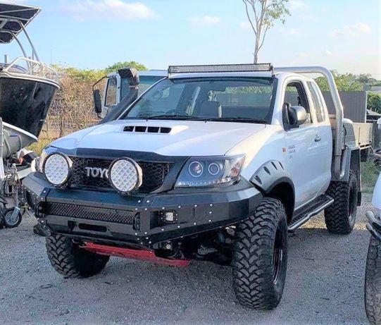 Bara otel pentru Toyota Hilux 2011-2015 fara bullbar