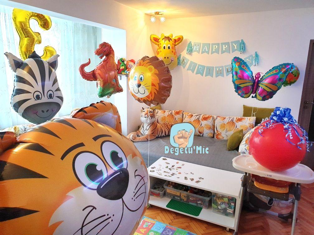 Baloane animale Dinozaur, leu, tigru, girafa