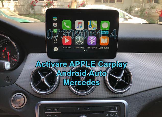IPhone Apple CarPlay Mercedes CLA,GLA,GLE,GLS,A,B Class Waze Google