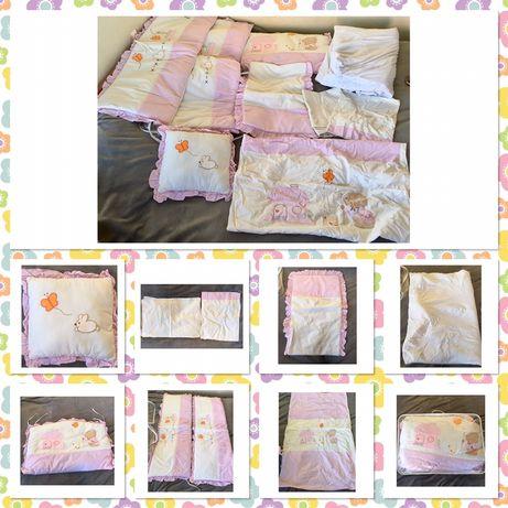 Бебешко  спално бельо 9 части
