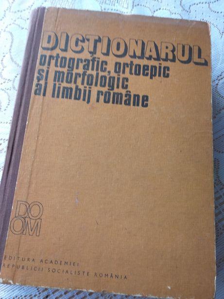 DICTIONARUL ortografic,ortoepic si morfologic al limbii romane