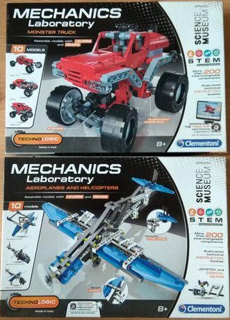 Два конструктора Clementoni Mechanics Laboratory
