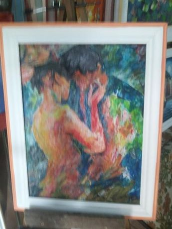 Автентични картини, маслени бои на платно