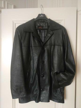 Куртка-пиджак кожанный
