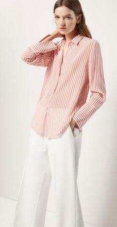 Massimo dutti,  шелковая рубашка, жакет
