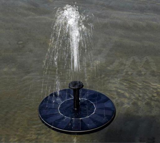Соларен фонтан за градинско езеро, декорация, градина (16см диаметър)