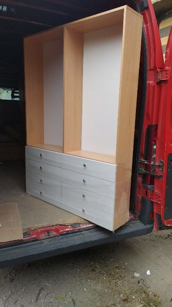 Офис мебели - нови , комплект нисък и висок шкаф гр. София - image 1