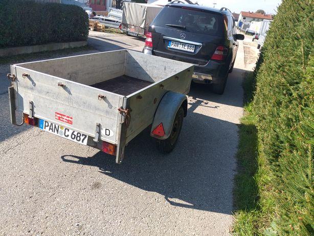 Remorca Auto 2 buc. de 750 kg Aduse recent din Germania