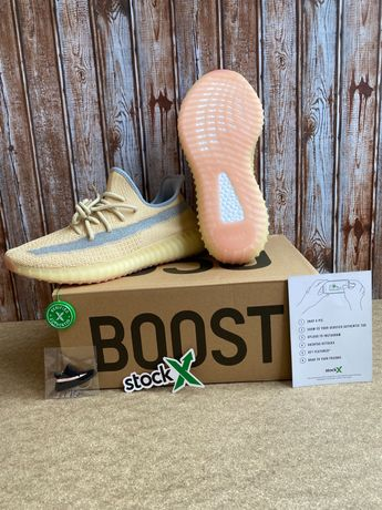 44 Adidas Yeezy Boost 350 V2 Linen