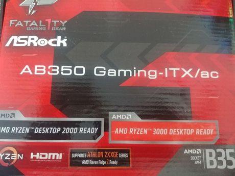 asrock ab350 gaming fatality ac box noua