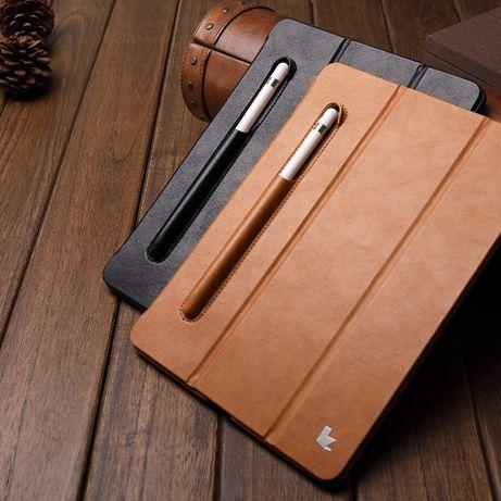 Husa iPAD 6, 5, iPad 9.7, piele fina, Jison Case, stand, suport pencil