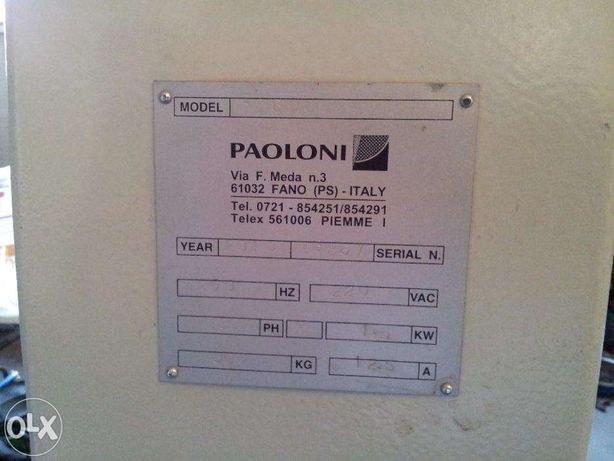 Masina copiat (lemn) PAOLONI FC 600